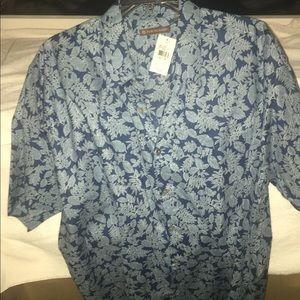 Tori Richard Hawaiian shirt — new